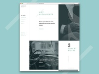 Articles Dojo - WordPress Theme - Work in Progress