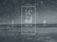 Weather - PSD Freebie