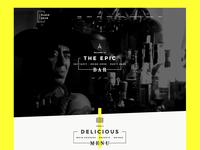 BarDojo - Epic Bar & Restaurant Website Template