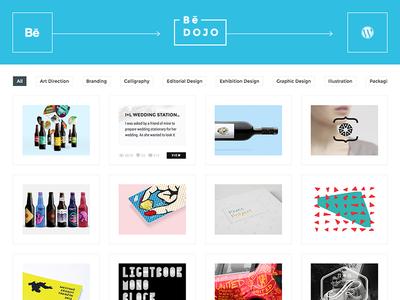 BeDojo - Behance Projects WordPress Portfolio Plugin