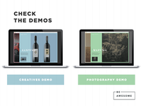 BeAwesome - Creative Behance Portfolio WP Theme