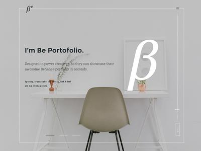 BePortfolio WordPress Theme