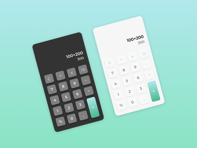 Calculator - Daily UI 004 diseño design uiux ui design ui screen dailyui