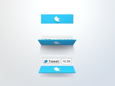 Twitter Button Concept
