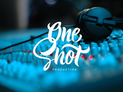 Lettering - One Shot production