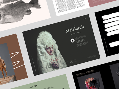 Gang Of Witches | Grid & Mockup Art Book art edition typography design branding mockup grid book