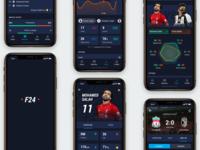 Football 24 Mobile App