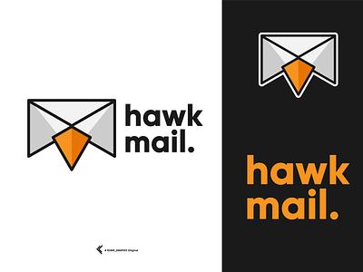 HAWKMAIL logos logofolio logodesigner logoawesome graphicdesigner graphicdesign logooftheday logodesign logotype logo
