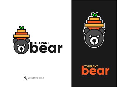 Tolerant bear dribbble logos logoawesome awesomelogo logodesigner graphicdesigner graphicdesign logotype logooftheday logodesign logo