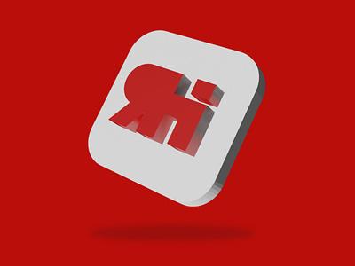 RED HELLCAT 3d illustration awesomelogo logodesigner dribbble graphicdesign logotype logooftheday logodesign logo