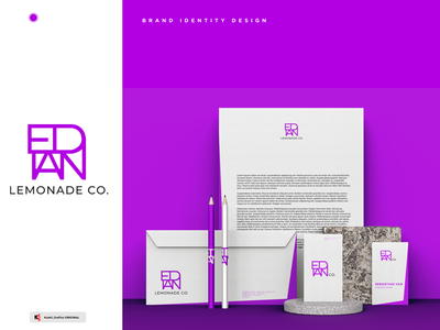 LEMONADE Co. BRAND IDENTITY logodesign design graphicdesign enterprise branding visuals brandidentity logo