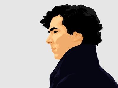 Sherlock Holmes Vector Illustration sherlock holmes sherlock corel draw 3pointcurve graphicdesign illustration vector art vector vectorart