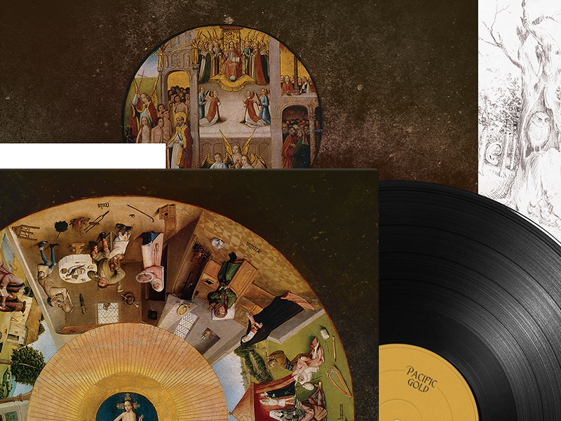 Pacific Gold artwork album