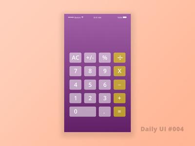 Daily UI 004 ui ux app uidesign
