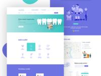 Dental Clinic - Homepage