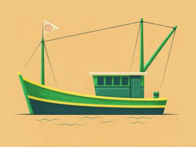 Fishing Boat ship clan clan symbol flag fishing fish boat fishing boat