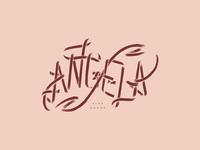 Angela Logo Design