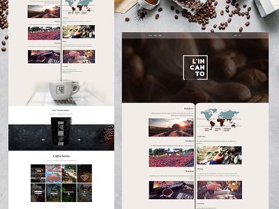 Coffee Shop Website coffeeshop creative design website web development company ux ui