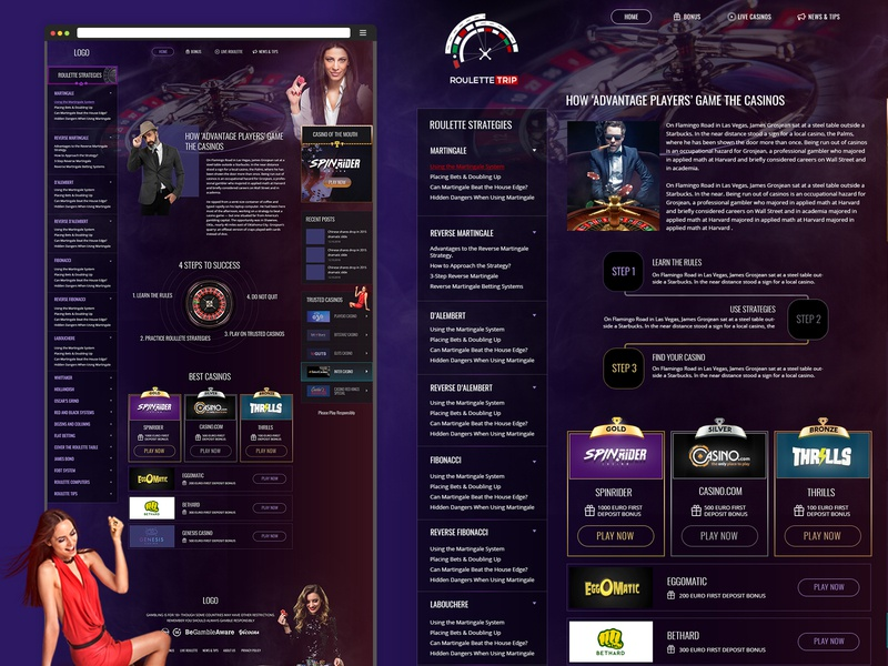 Casino website design website development casino website creative brand design agency branding ux ui