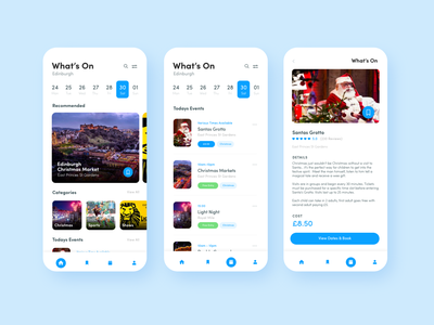 Local Events App Design Concept events app design adobe xd xddailychallenge dailychallenge xd ui