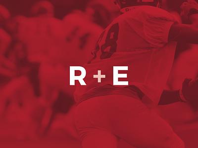 R+E Entertainment Group management group logo design branding logo