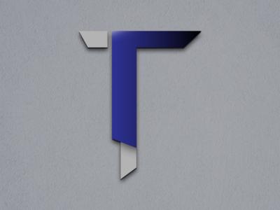 Lettre T - typographie photoshop illustrator lettering typography