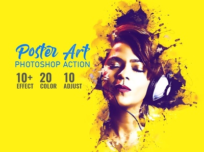 Poster Art Photoshop Action pop art photoshop actions photo effect pencil painting effects painting paint filter drawing comic cartoon canvas atn artistic artist add ones actions action abstract effect abstract