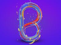 Artistic Colorful Alphabet