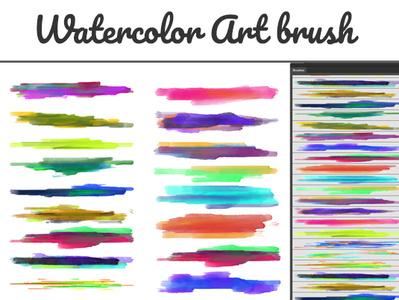 Illustrator Watercolor Art Brush watercolor brush vector marker brush marker illustrator brush illustrator art brush illustrator add one gel pen brush frame brush font design font brush font decorative brush calligraphy brush brush border brush art brush