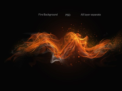Fire flames on black background isolated hi-res hero images grunge fog flowing flame effects dynamic dust decorative clean burn brush black background artistic abstract smoke fire