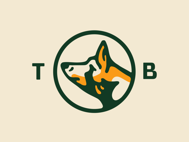 Good boy... good boy doggo identity branding illustration badge dog vector icon logo