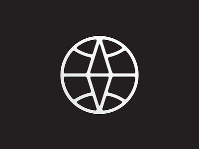 Going global travel mark compass world globe identity design branding icon logo vector