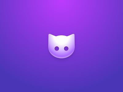 Clew logo neomorphism