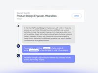 Tidl AI Job search element