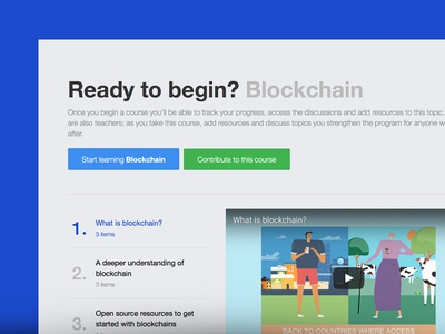 Learn Blockchain with Alcamy – UI alcamy learning ui