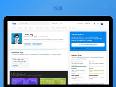 Tidl dashboard design tidl
