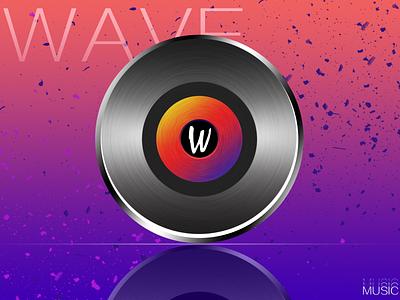 wave 产品图标 app branding 3d icon art logo minimal design ui illustration
