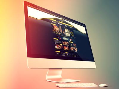 XayaGaming ui design website web design web webdesign ui layout esports gaming xaya