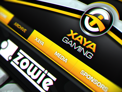 XAYA Gaming xaya gaming esports layout ui design webdesign ui web web design website