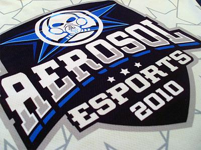 Aerosol eSports Jersey aerosol esports gaming team jersey print clothing apparel branding shirt t-shirt tshirt logo