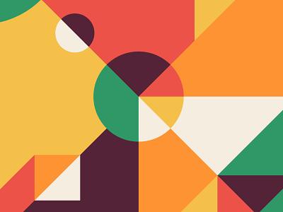 Abstract Geometric No. 3 geometric design geometric art geometric geometry form color abstract design illustration