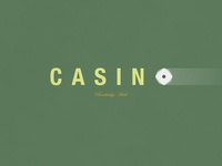 Casino   Typographical Poster