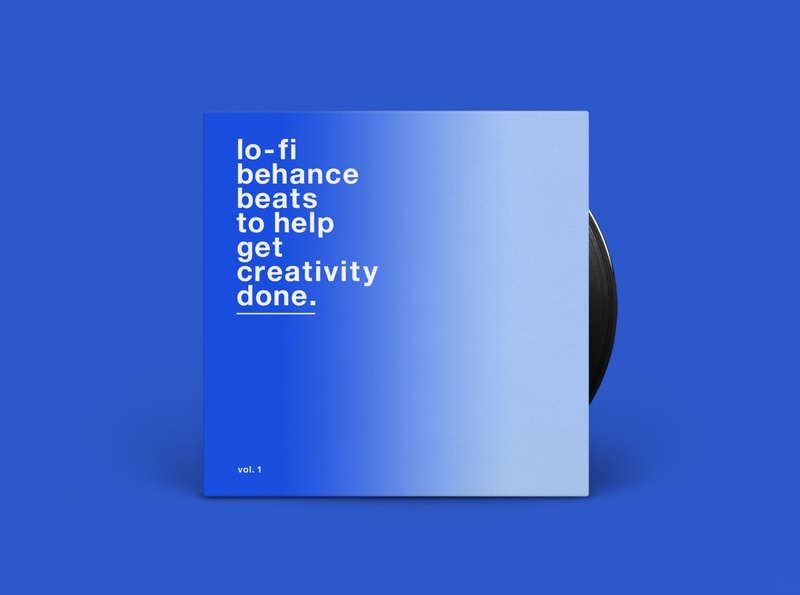 Lo-Fi Behance Beats... | Vinyl Sleeve Design humour music record packaging behance vinyl minimal graphics simple typography