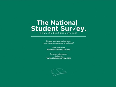 The National Student Survey   Poster Competition 2013