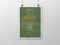 Bully 'Canis Canem Edit' | Typographical Posters