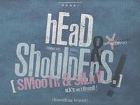 Head & Shoulders Vintage Letterpress   Packaging Design
