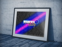 Vinyl Galaxy | Typographical Promotion Poster