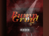 R. Kelly - Bump n' Grind | Typographical Poster
