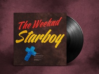 The Weeknd - Starboy | Typographical Vinyl Packaging