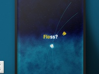 Floss? 'Abstract Dental Poster' | Illustration Project